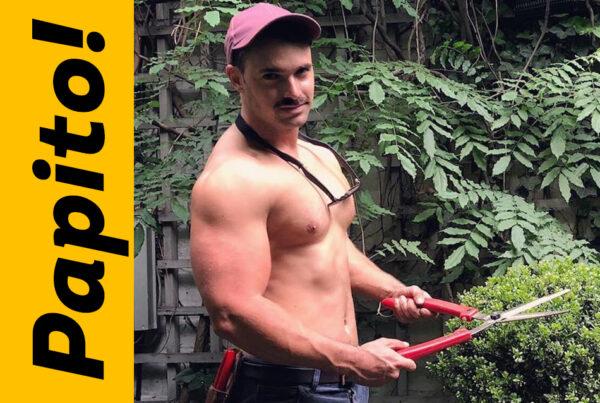 El guapo jardinero gay catalogado como el más sexy host de tv
