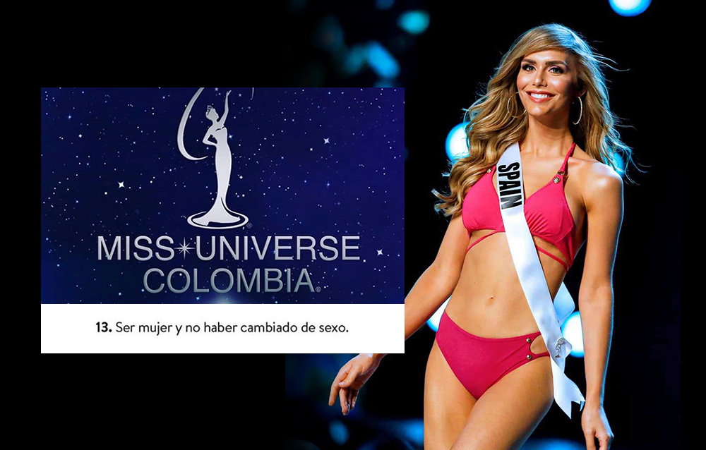 Miss Universe Colombia excluye a mujeres trans