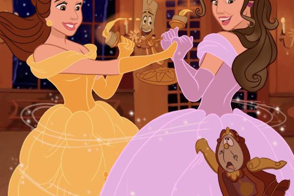 Qué pasaría si las princesas de Disney llegaran a sentir afecto entre ellas 1